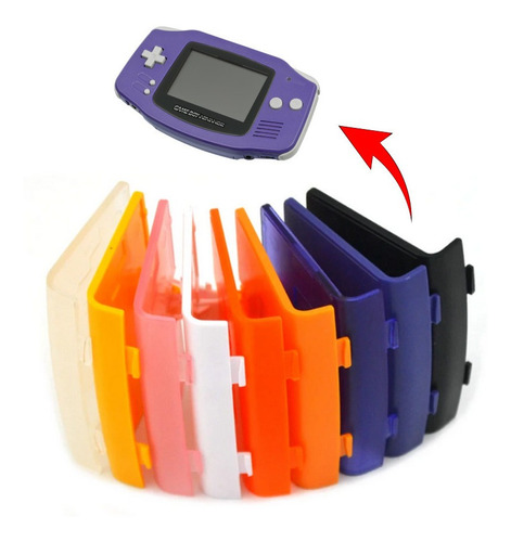 Tapa Pilas Batería Slot Compatible Con Gameboy Advance Gba