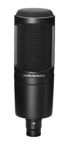 Micrófono At2020 De Condensador Cardioide Audiotechnica