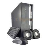 Compu Pc Cpu Amd E6010n Ssd120gb 4gb Ram Con Teclado Y Mouse