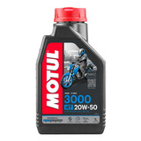 Aceite Moto 4t 3000 20w50 Mineral Motul 1l