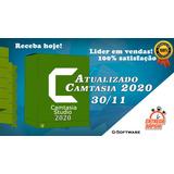 Criação E Edição + Camtasia 2020.012 + Receba Hoje