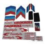 Adesivos Freestyle Com Lixas Caloi Cross Extra Light Nylon Original