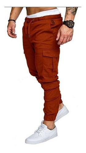 Pantalones Joggers Caballeros En Dril Sahara  By Plutonio