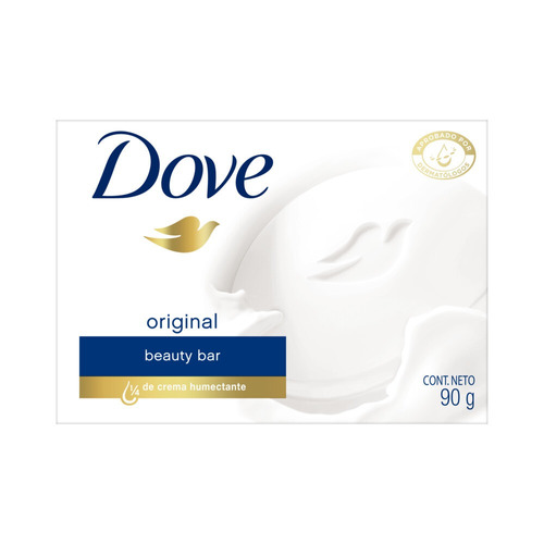 Jabón En Barra Dove Original 90 g Pack X 6