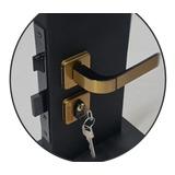 Fechadura Para Porta Quarto Sala Externa Modena Bronze Mgm