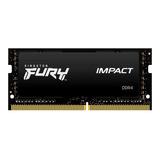 Kingston Memoria Notebook Fury Impact Ddr4 16gb 3200mhz