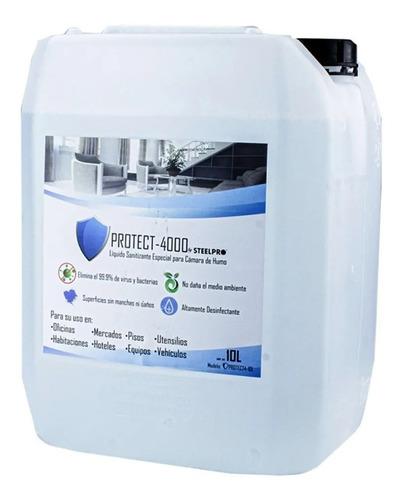 Líquido Sanitizante Para Aplicación Con Máquina De Humo 10l