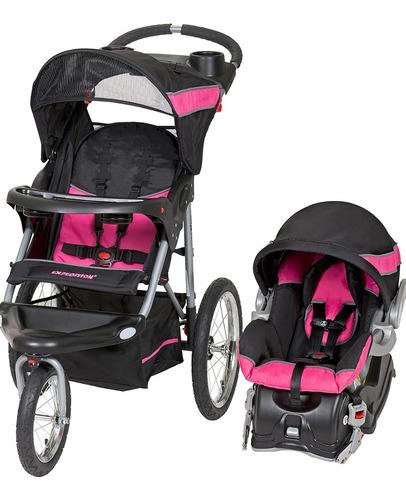 Coche Baby Trend + Silla Para Carro