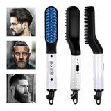 Cepillo Eléctrico Para Barba, Forma De Peine De Calefacción,
