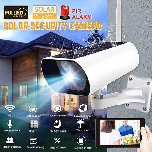 Wifi Solar Powered Wireless 1080p Hd Visión Nocturna