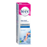 Crema Depilatoria Veet Silky Fresh Corporal Piel Sensible 100ml