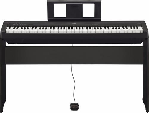 Piano Yamaha P45 En Combo Con Mueble + Pedal + Usb Citimusic