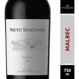 Vino Malbec Nieto Senetiner X750 Ml