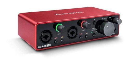 Interfaz De Audio Focusrite Scarlett 2i2 Mkiii
