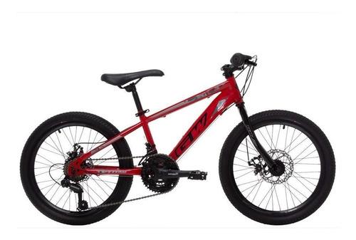 Bicicleta Gw Titan Rin 20 7 Vel Niños Freno Disco Shimano