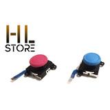 2 Stick Analogo Rojo - Azul Repuesto Joy Con Nintendo Switch