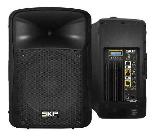 Bafle Potenciado Skp Sk-3p Bluetooth Mp3 Usb Woofer12'' 800w
