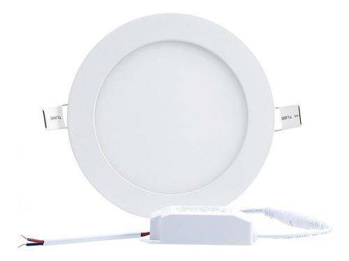 Panel Led 18w Incrustar Luz Blanca 6500k 22cm Certificada