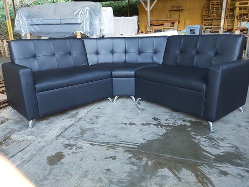 Sofa 3 Puestos Con Chaisse Loungue El Mejor Precio.