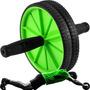 Roda Rolo Abdominal Lombar Exercício Funcional Fitness Wheel Original