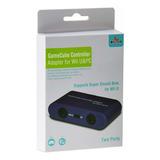 Gamecube Driver Adaptador Para Wii U Y Pc Dos Puertos Usb