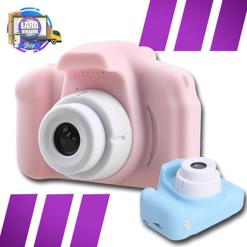 Mini Camara Fotografica Digital Recargable Niños Resistente