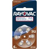 Pila Para Audifonos Rayovac 312 - Caja De 60 Pilas