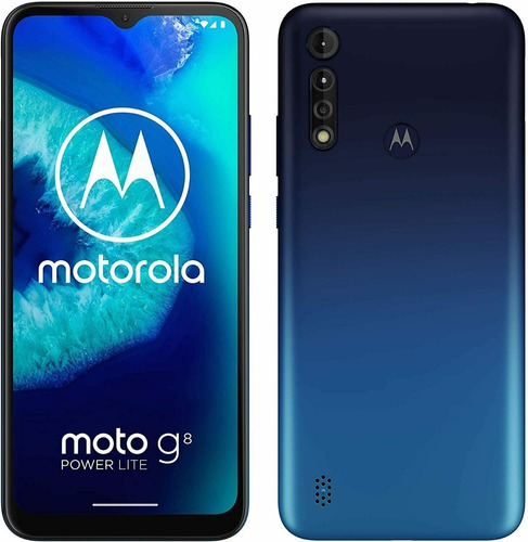 Celular Android Motorola Moto G8 Power Lite 64gb+4gb+5000mah