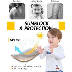 Mangas De Brazo Para Niños X Unidad , 4 Colores Disponibles