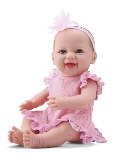 Lindo Bebê Coleção Dengo Estilo Reborn Menina Divertoys