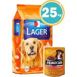 Ración Para Perro Lager Adulto 25kg+ Obsequio + Envío Gratis