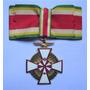 C9596 - Medalha Honorifica Com Cruz De Malta Em Metal Medind Original
