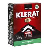 Veneno Ratones Klerat 2 Cajas De 50grm C/u