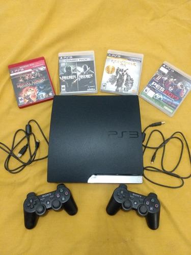 Consola Playstation 3 Slim Nueva!impecable!! 6meses Uso