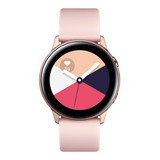 Samsung Galaxy Watch Active (bluetooth) 1.1  Caja 40mm De  Aluminio Malla De Fluoroelastómero Y Bisel  Rose Gold Sm-r500