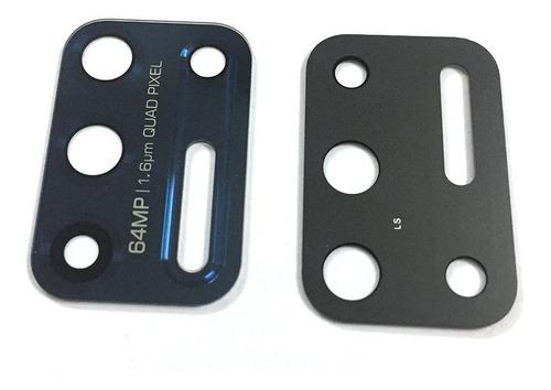Mica De Reemplazo Motorola G9 Plus/azul Con Adhsivo/ Instore