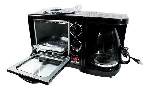Kit 3 En 1 Cafetera, Horno Tostador Y Sarten Better Chef
