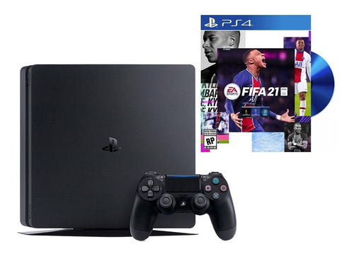 Playstation 4 Slim 1tb + Juego Fifa 2020 Físico -sertel Shop