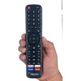 Control Remoto Smart Tv Hisense En2ai27h Netflix 4k +pilas