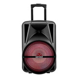 Caixa De Som Lenoxx Ca340 Portátil Com Bluetooth Preta 110v/220v