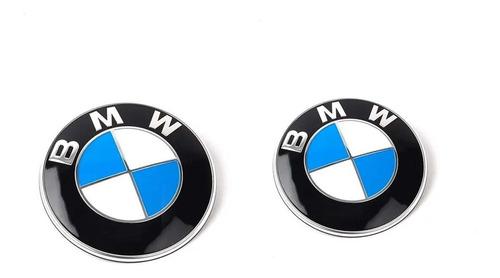 Kit Emblemas Bmw Capot Baul Insignias Oem Irp Serie 1 3 5 X1 BMW Z3