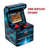 Consola Microfichines Arcade Retro Kanji 200 Juegos 8-bit D