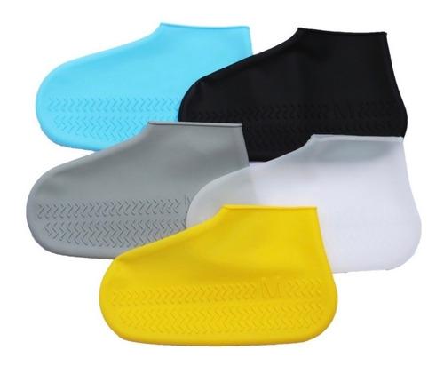 Protector Silicon Cubre Tenis Zapato Bota Lluvia Impermeable