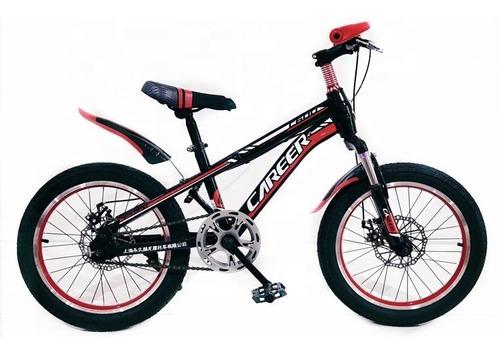 Bicicleta Rodado 20 Con Suspensión Y Freno De Disco