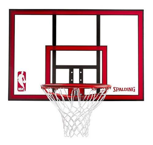 Aro Tablero De Basketball Spalding Con Resorte Flexible