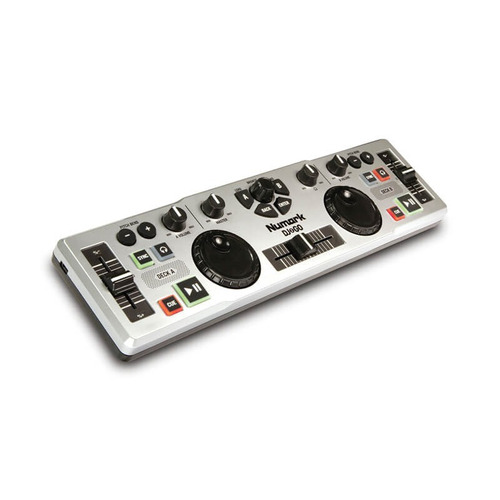 Controlador Dj Numark Dj2go Mixer Controaldora Dj Portatil Usb Consola Mezclardor Listo Para Usar