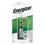 Cargador Energizer Mini Aa Aaa + 2 X Pilas Recargables Aa