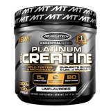 Creatina Platinum 80 Servicios Muscletech Proteina Sin Sabor