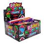 Pirulito Dip Loko Neon Monster Brilha No Escuro 30un Diploko Original