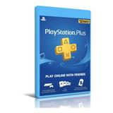 Playstation Plus 12 Meses Codigo Original Membresia Original